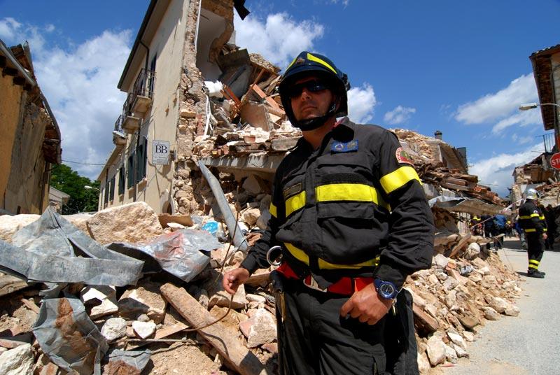 Livio Senigalliesi terremoto