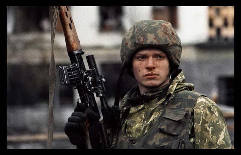Livio Senigalliesi Cecenia soldati