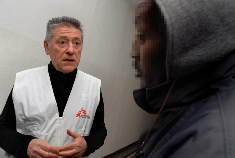 Livio Senigalliesi MSF povertà
